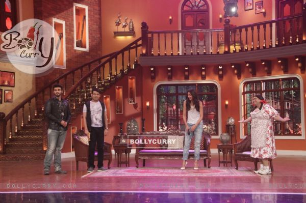 Promotions of Finding Fanny on Comedy Nights with Kapil