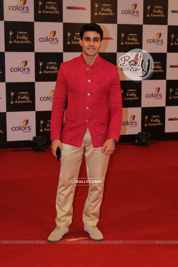 Gautam Rode was at the Indian Telly Awards