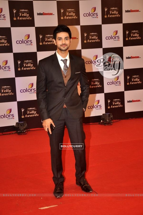 Shakti Arora at the Indian Telly Awards