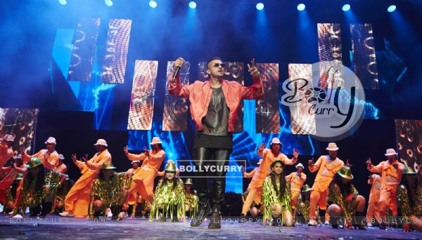 Honey Singh performs at Slam The Tour