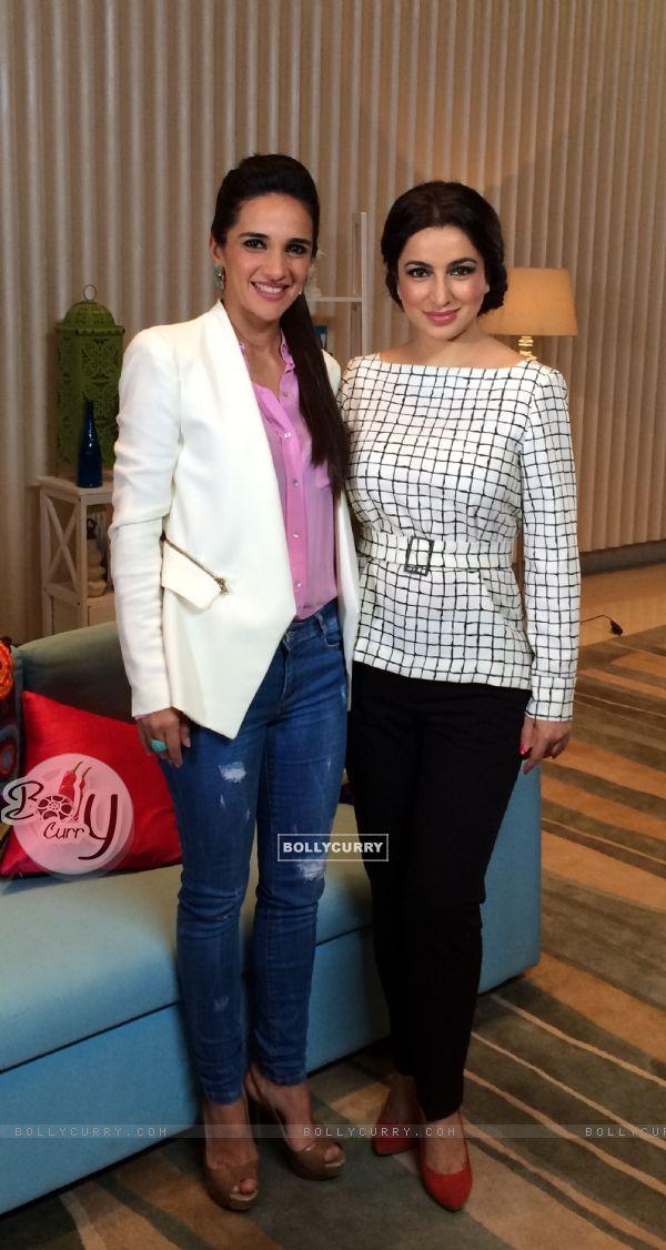 Tisca Chopra & Tara Sharma