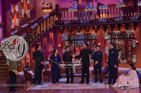 Happy New Year Team on Comedy Nights with Kapil