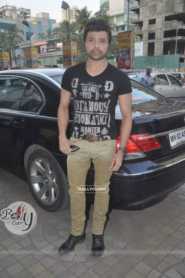 Himesh Reshammiya poses for the media at the Song Launch of Action Jackson