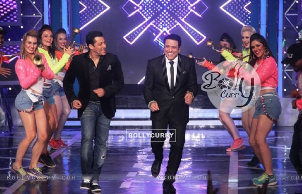 Salman Khan and Govinda shake a leg on Bigg Boss 8
