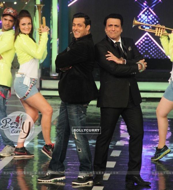 Salman Khan and Govinda on Bigg Boss 8