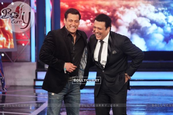 Salman Khan and Govinda on Bigg Boss 8