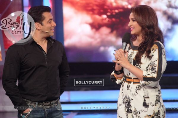 Salman Khan and Parineeti Chopra on Bigg Boss 8