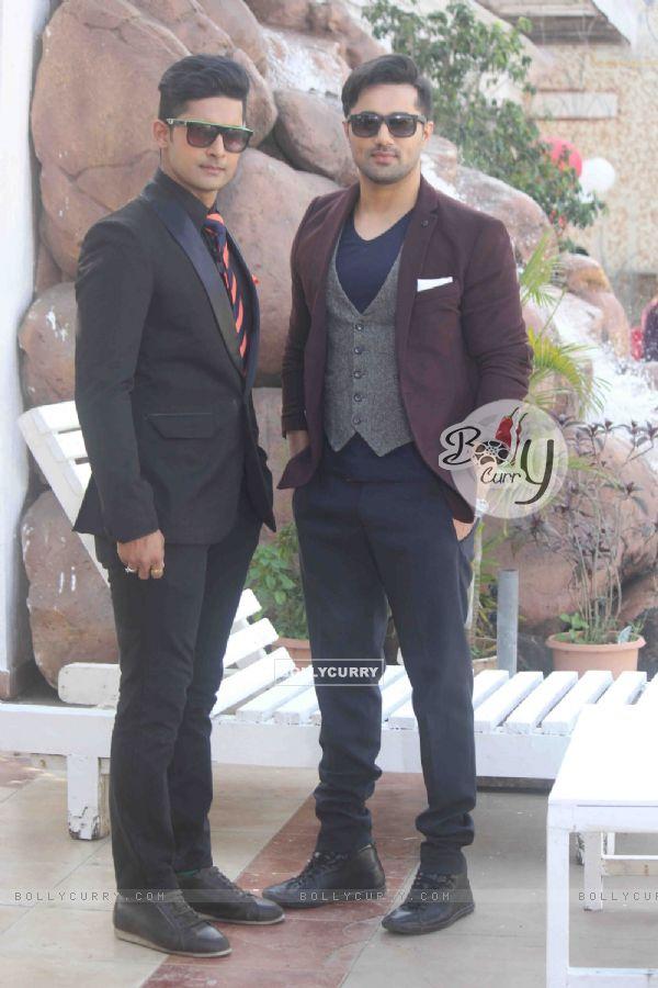 Vishal Karwal with Ravi Dubey