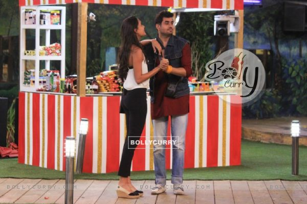 Pritam dances with Lisa on Bigg Boss 8
