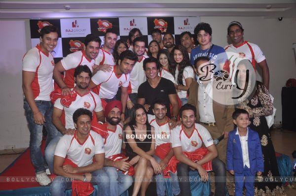 Jersey Launch of BCL Team Jaipur Raj Joshiley