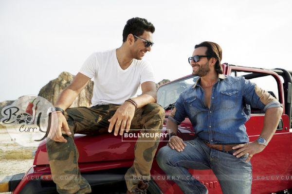 Yuvraj Singh and Saif Ali Khan