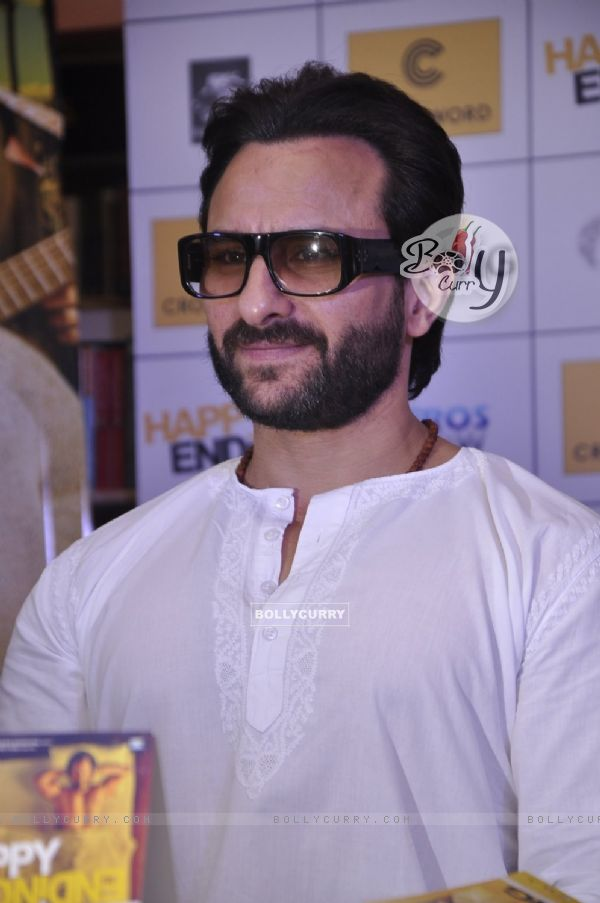 Saif Ali Khan was snapped at the Promotions of Happy Ending