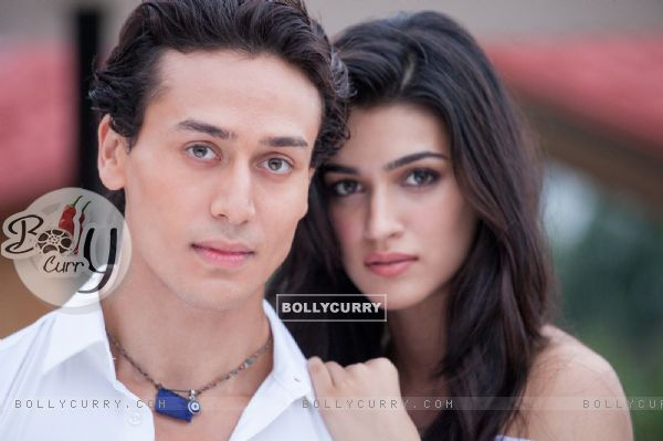 Tiger Shroff & Kriti Sanon