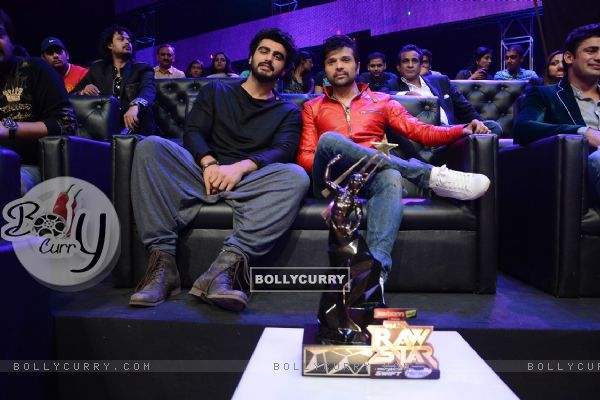 Arjun Kapoor promotes Tevar at the Grand Finale of India's Raw Star