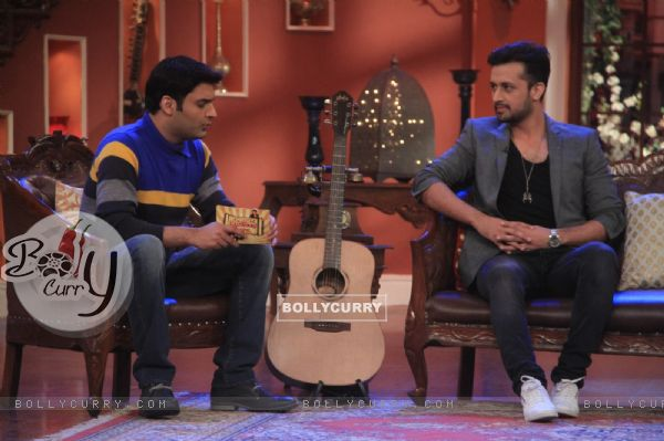 Kapil Sharma interviews Atif Aslam on Comedy Nights With Kapil