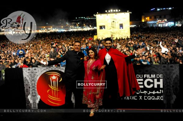 Farah Khan Presents 'Happy New Year' at the 14th Marrakech International Film Festival (347637)