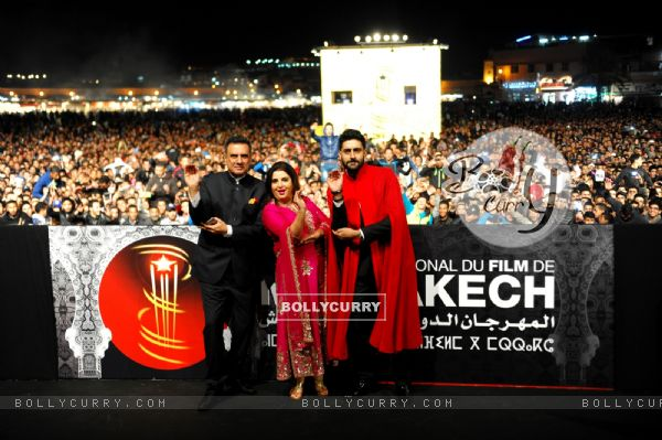 Farah Khan Presents 'Happy New Year' at the 14th Marrakech International Film Festival (347639)