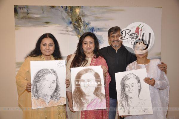 Amol Palekar Paints His Past Heroines