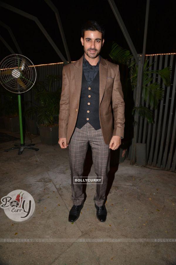 Gautam Rode at Purbi Joshi & Valentino's Wedding