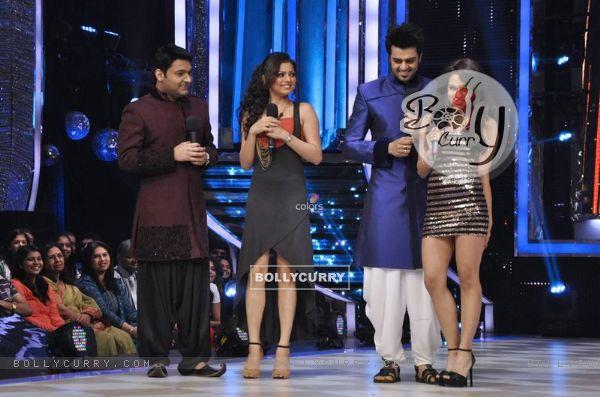 Drashti Dhami, Sana Saeed, Kapil Sharma and Manish Paul