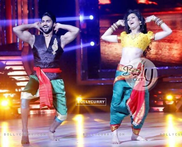 Drashti Dhami and Salman Yusuf Khan