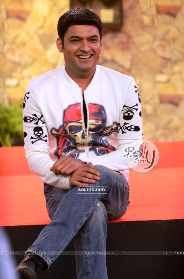 Kapil Sharma inside Bigg Boss 8 House