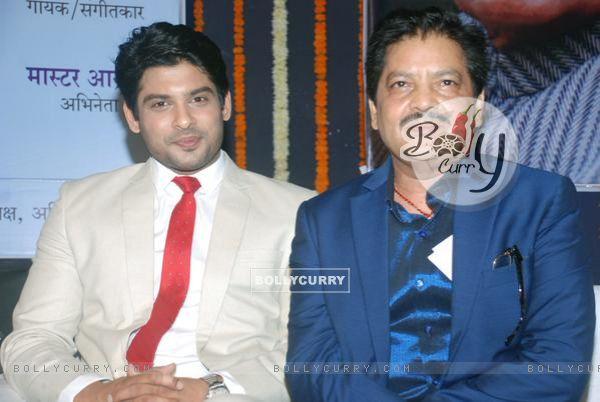 Siddharth Shukla and Udit Narayan at Atal Behari Vajpayee's Bday celebration 4