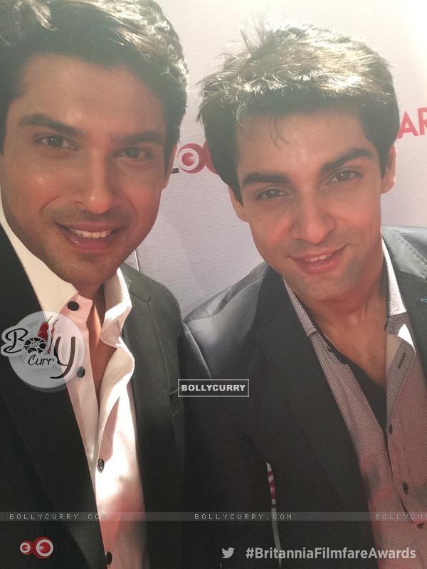 Siddharth Shukla with Karan Wahi