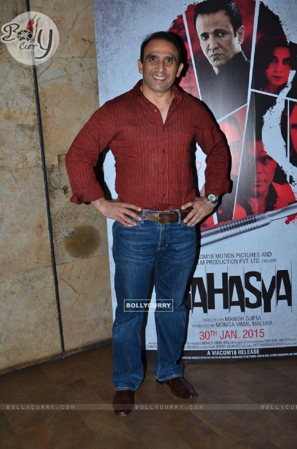 Bikramjeet Kanwarpal was at the Special Screening of Rahasya