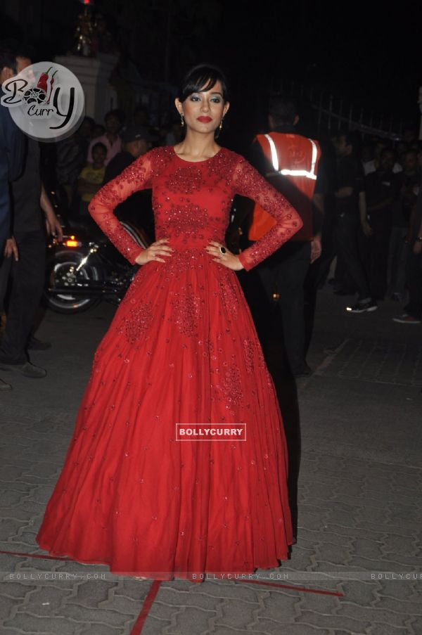 Amrita Rao was at the 60th Britannia Filmfare Awards