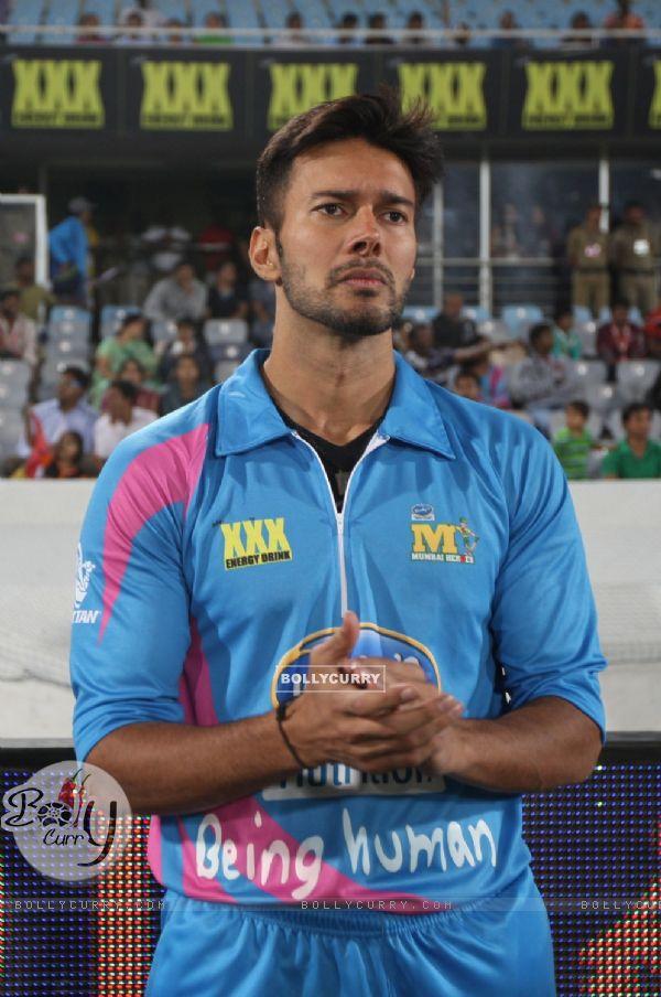 Rajneesh Duggal was snapped at the CCL Match Between Mumbai Heroes and Telugu Warriors