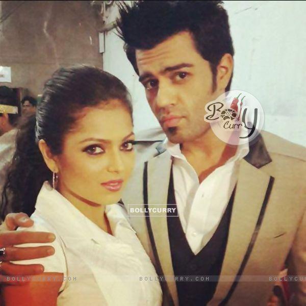 Drashti Dhami and Manish Paul
