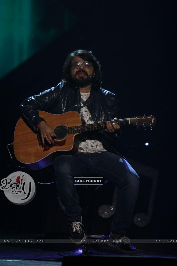 Pritam Chakraborty performs at GIMA Awards 2015