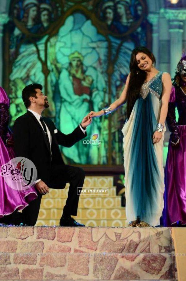 Drashti Dhami with Anil Kapoor