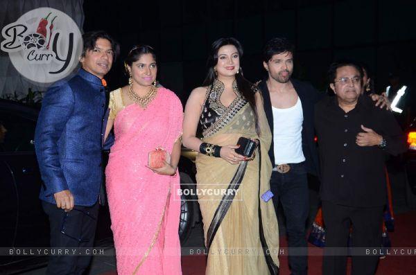Celebs at Tulsi Kumar's Wedding Reception