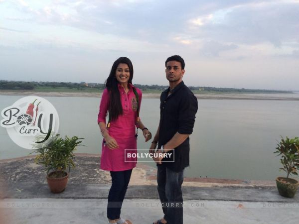 Payal Rajput and Gautam Rode
