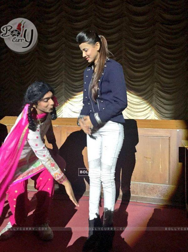 Vrinda Dawda with Sunil Grover