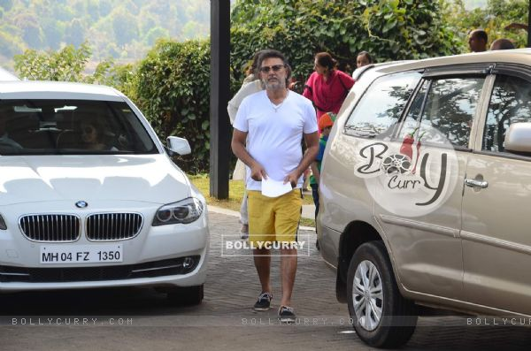 Rakeysh Omprakash Mehra was seen at Aamir Khan's 50th Birthday Bash in Lonavla