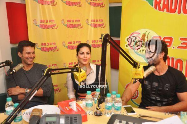 Promotions of Ek Paheli Leela on Radio Mirchi 98.3 FM