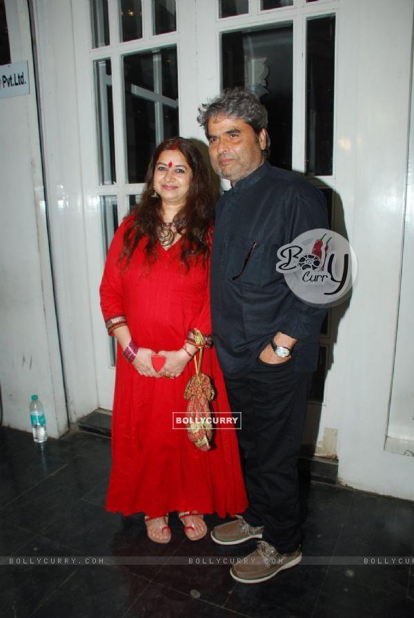 Vishal and Rekha Bharadwaj was at the Success Bash for Haider's National Award (360019)