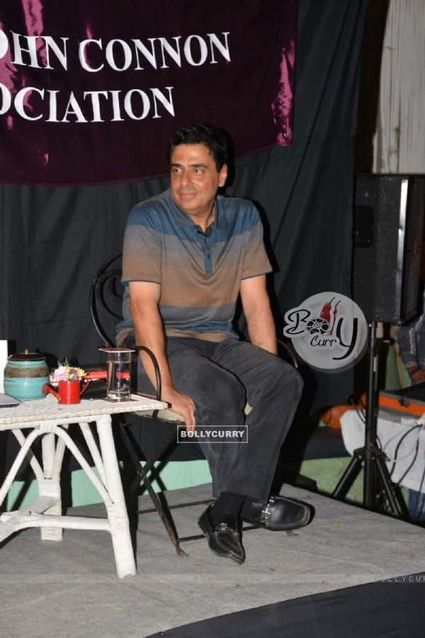Ronnie Screwvala was snapped at his Book Reading