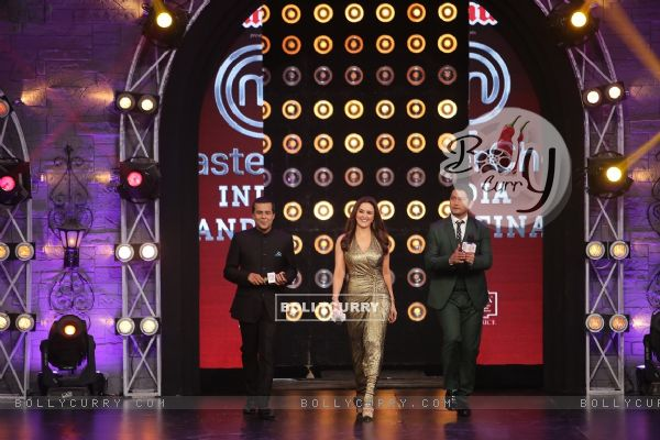 Promotions of Nach Baliye 7 at Grand Finale of Masterchef Season 4
