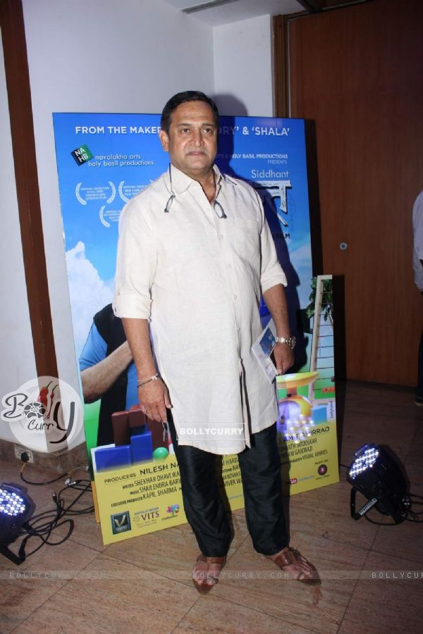 Mahesh Manjrekar at Music Launch of Siddhant