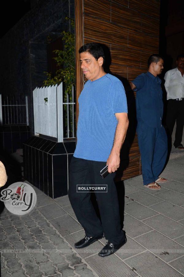 Ronnie Screwala at Aamir Khan's Bash