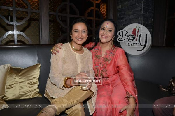Divya Dutta and Ila Arun at Nishka Lulla's Party