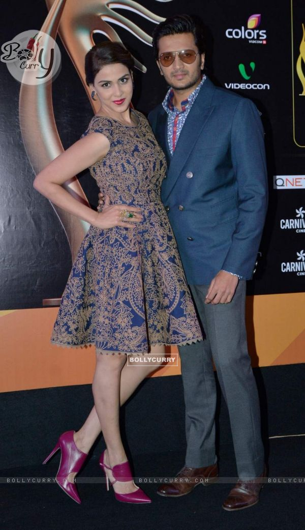 Riteish Deshmukh and Genelia Dsouza!