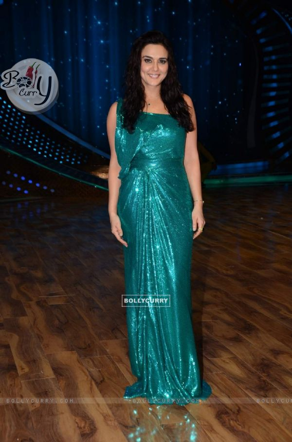 Preity Zinta on the Sets of Nach Baliye!