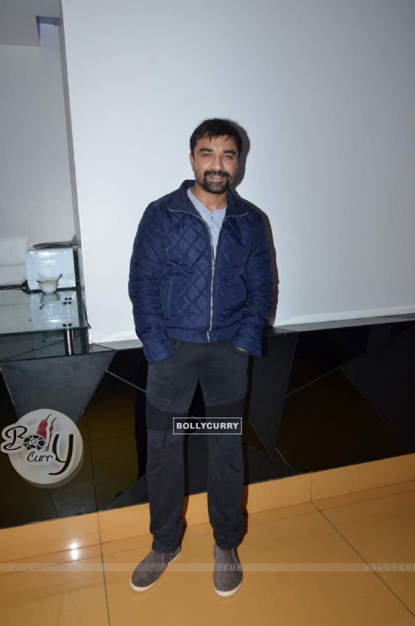 Ajaz Khan at Screening of Mr. Mother