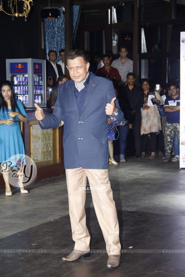 Mithun Chakraborty at Press Meet of Dance India Dance Season 5