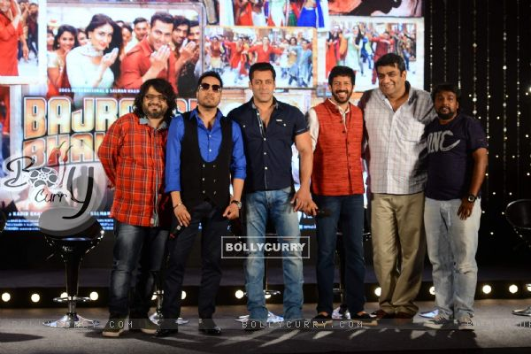 Bajrangi Bhaijaan Team at Song Launch
